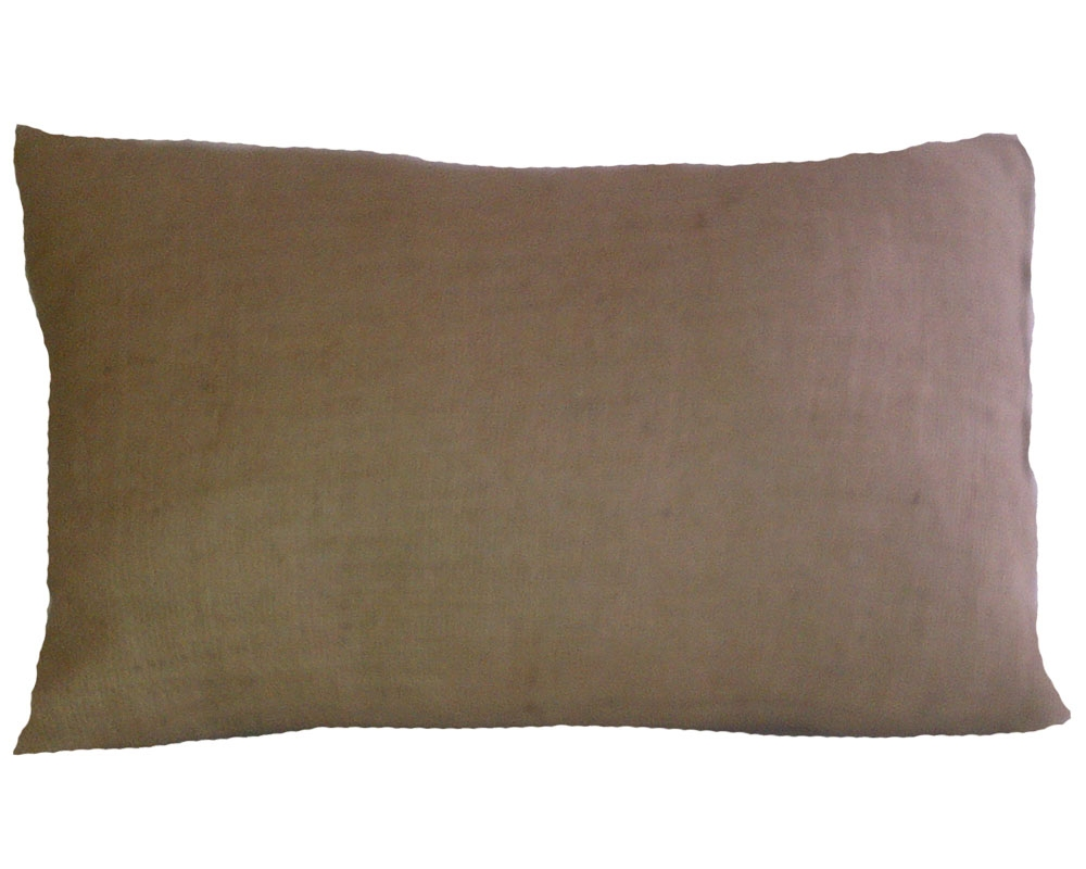 "Burlap Rectangular Pillow - 12"" x 18"""